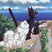 【魔女の宅急便】魔女と会話が出来る黒猫のジジの不思議を探る。