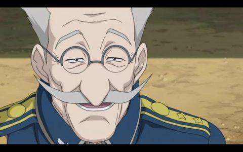 【鋼の錬金術師】グラマン中将は年の功があり経験豊富な野心家!大総統になる?