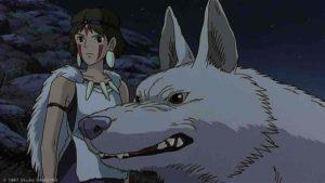 【もののけ姫】モロの子の名前は?ヤックルと仲良しでかわいい?