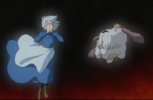 【ハウルの動く城】魔女サリマンの犬「ヒン」の正体は?モップに似ててかわいい!