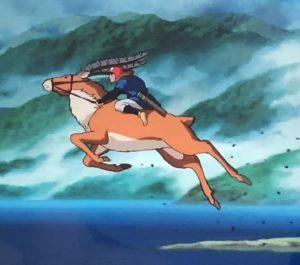 【もののけ姫】ヤックルはアシタカの最高のパートナー!カモシカではなく想像上の生き物?