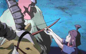 【もののけ姫】カヤの受けた罰って何?アシタカとその後子どもができた?