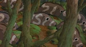 【もののけ姫】謎多き集団「ジバシリ」とは?意味や石火矢衆との関係を解説!