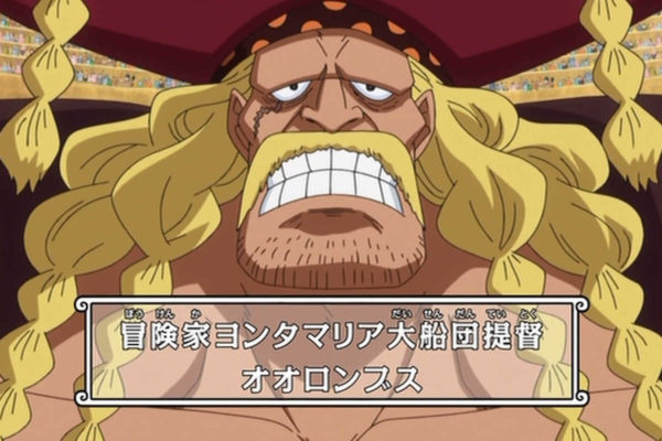 【ワンピース】オオロンブスの能力の強さは?懸賞金や誕生日、年齢を紹介!