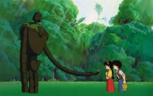 【天空の城ラピュタ】ロボット兵はビームを使う?花の名シーンなどまとめ!