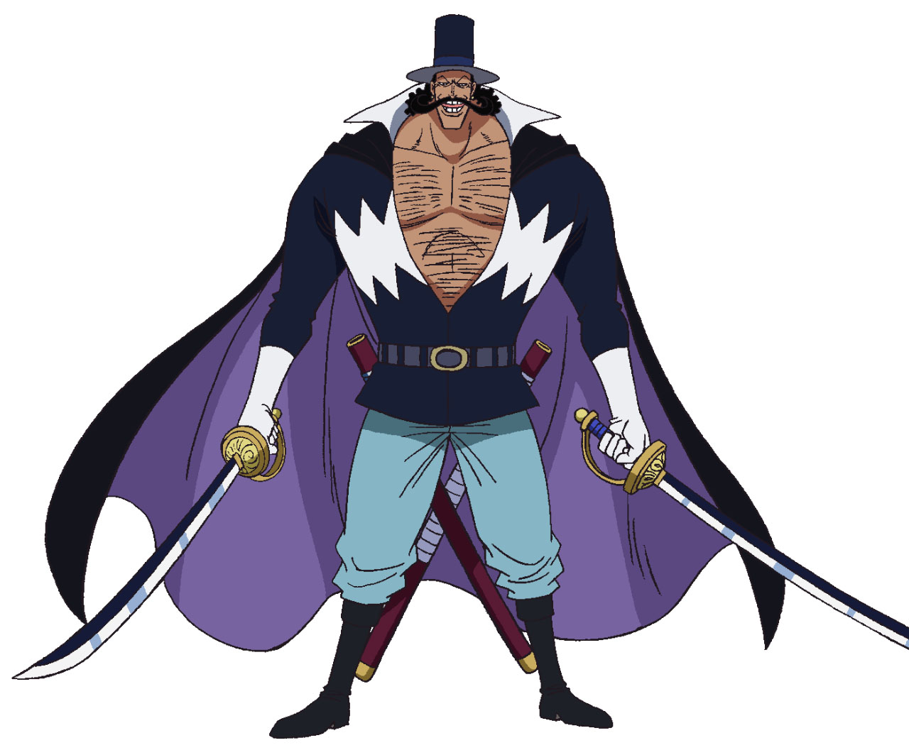 【ワンピース】ビスタは白ひげ海賊団・5番隊隊長!年齢や強さや能力は?