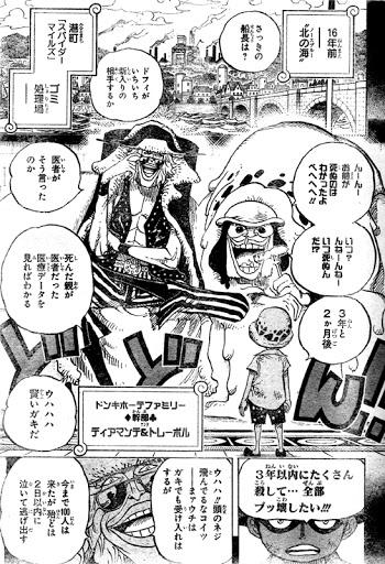 【ワンピース】ディアマンテは能力が弱い?懸賞金や技、声優を紹介!