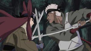 【NARUTO】忍刀・牙を使いこなす強力な雷遁使い、林檎雨由利!