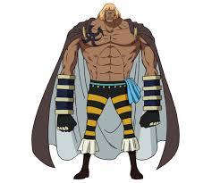 【ワンピース】キングデューは白ひげ海賊団の隠れた有能男!!11番隊隊長の実力とは?