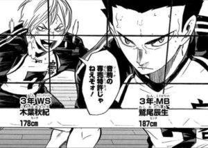 【ハイキュー!!】鷲尾辰生の誕生日は?身長や背番号も解説!