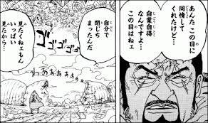 【ワンピース】藤虎の名言をご紹介!モデルは誰?盲目となった過去や能力も解説!