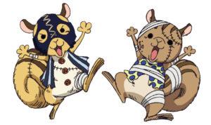【ワンピース】リスキー兄弟は噂大好き!声優や名シーンを紹介!